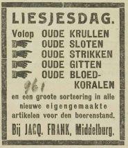 krantenknipsel Annetje Liesjesdag